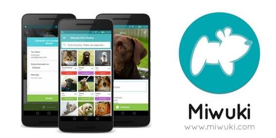 miwuki aplicacion para adoptar mascotas 4