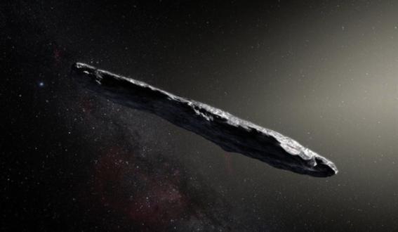 oumuamua asteroide de otra galaxia 1