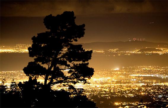 contaminacion luminica en la tierra 3