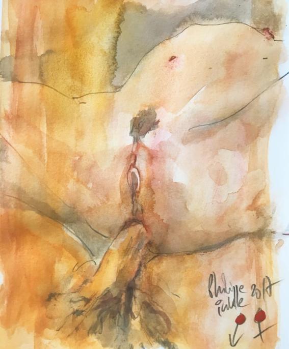acuarelas eroticas de philip inke 2