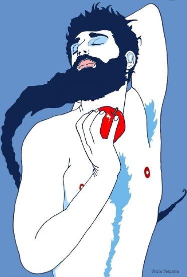 ilustraciones homoeroticas 1