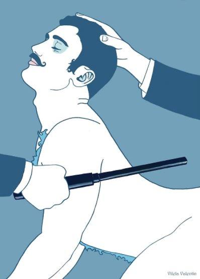 ilustraciones homoeroticas 4