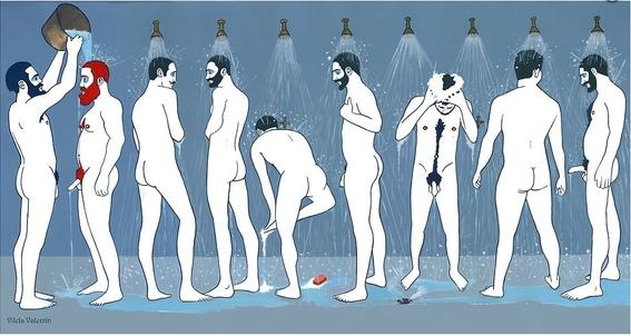 ilustraciones homoeroticas 7