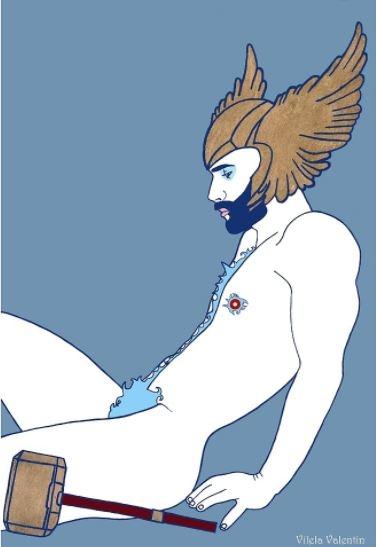 ilustraciones homoeroticas 8