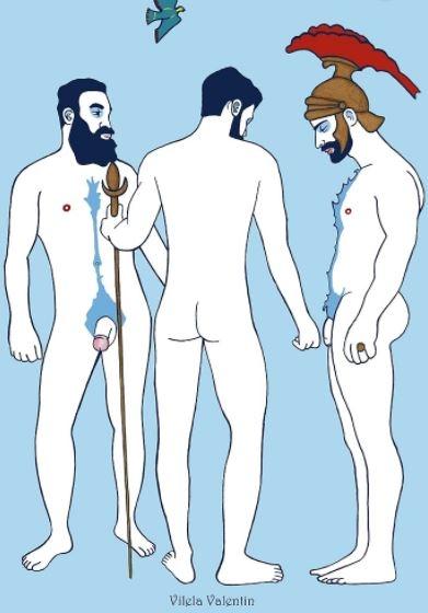ilustraciones homoeroticas 18