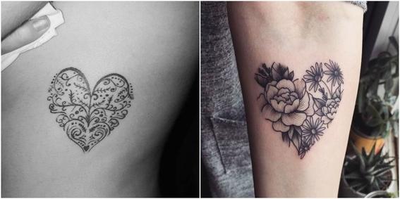 heart tattoos 1
