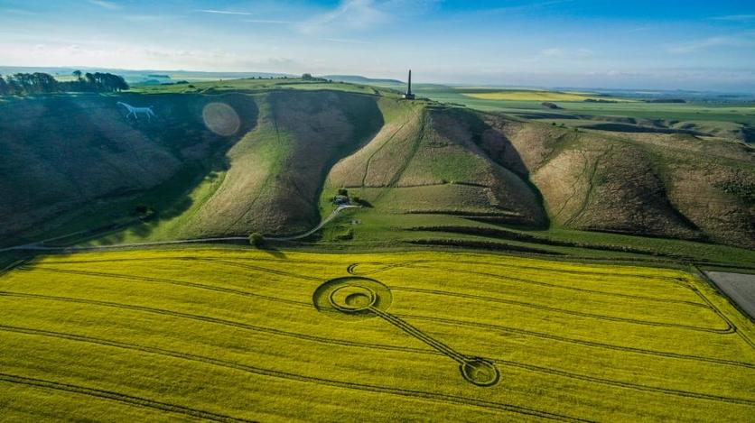 El secreto detrás de los misteriosos círculos hechos por extraterrestres 1