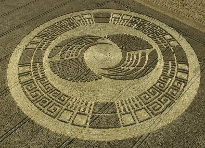 El secreto detrás de los misteriosos círculos hechos por extraterrestres 2