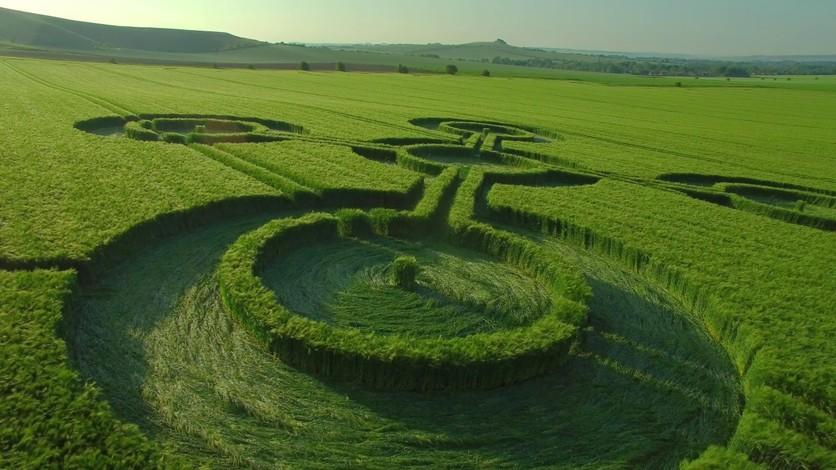 El secreto detrás de los misteriosos círculos hechos por extraterrestres 6