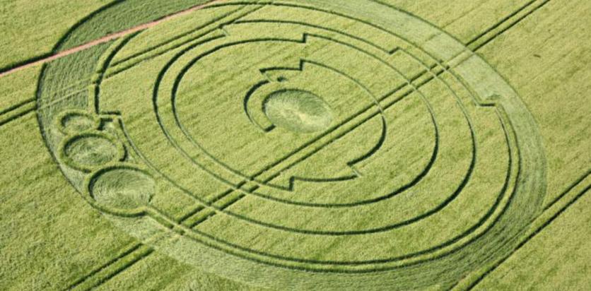 El secreto detrás de los misteriosos círculos hechos por extraterrestres 5