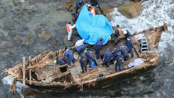 embarcaciones fantasma con cadaveres en japon 3
