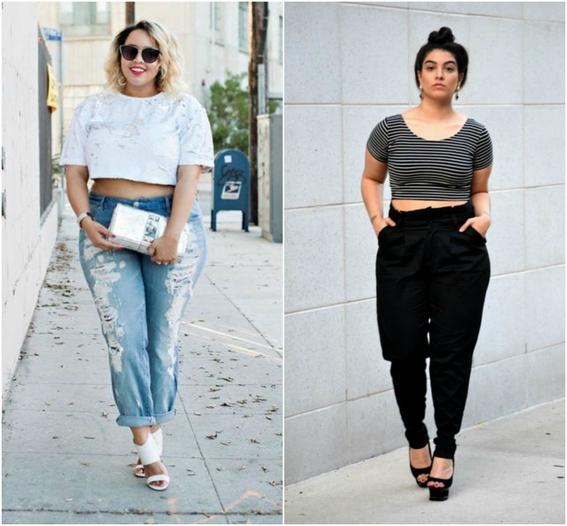 secretos de moda para mujeres plus size 11