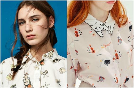 tipos de camisa para mujeres 10