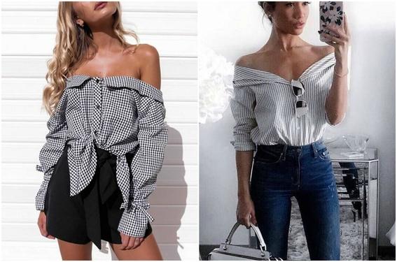 tipos de camisa para mujeres 11