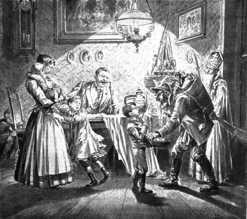 La historia del demonio que inspiró a Santa Claus 0