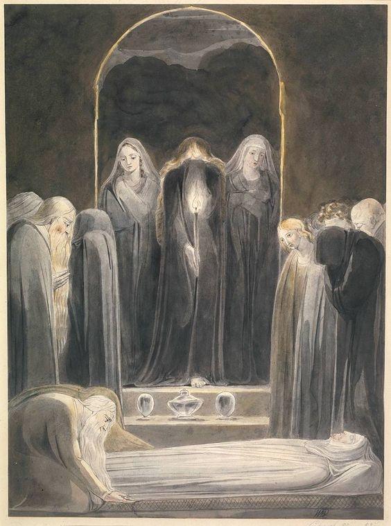 Obras de William Blake para conocer cómo inició lo romántico 4