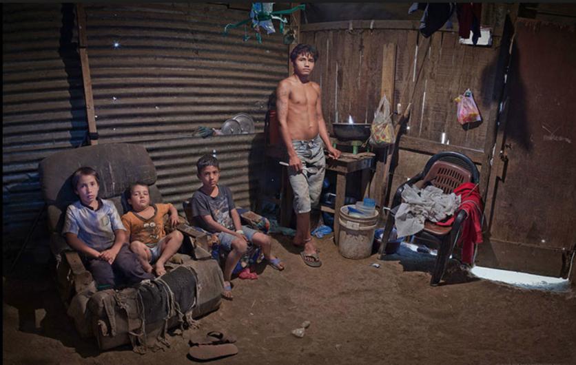 10 fotografías históricas de cómo se vive la pobreza en América Latina 0