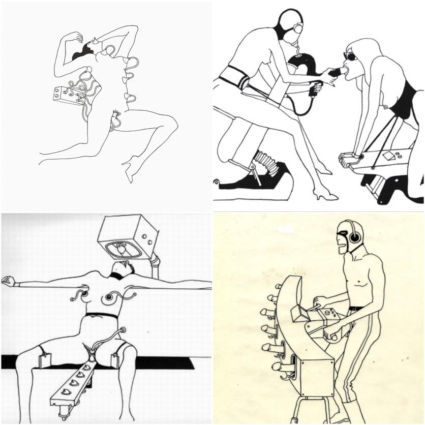 Ilustraciones eróticas del 'Fornicon' de Tomi Ungerer 0