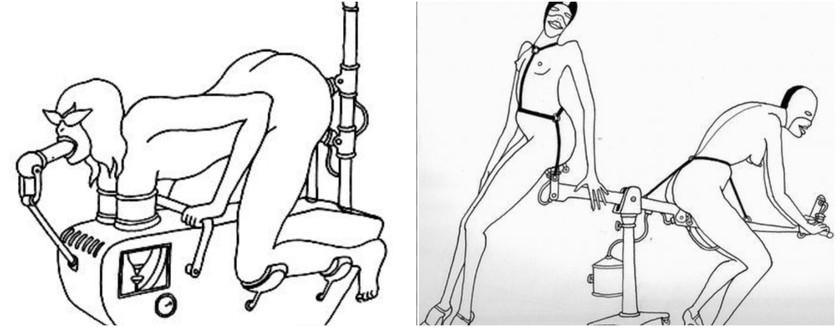 Ilustraciones eróticas del 'Fornicon' de Tomi Ungerer 1