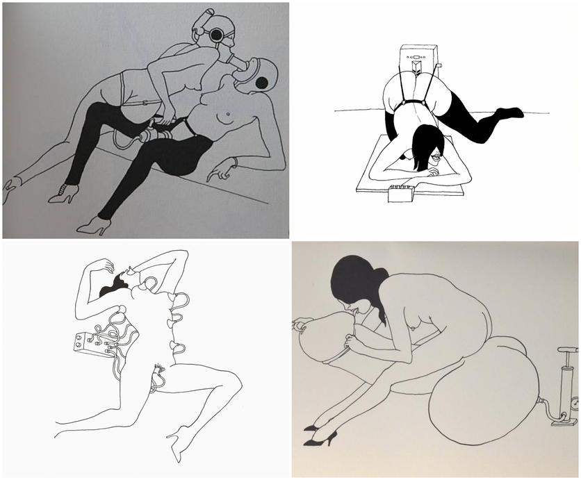 Ilustraciones eróticas del 'Fornicon' de Tomi Ungerer 3