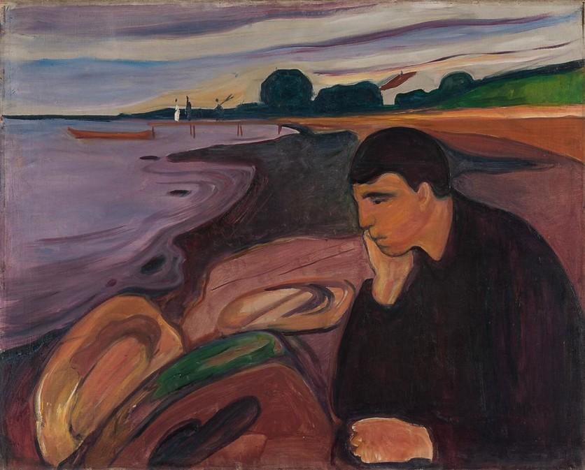7 pinturas de Edvard Munch que te acompañarán en tus momentos de tristeza y desesperación 2