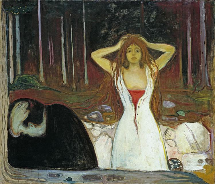 7 pinturas de Edvard Munch que te acompañarán en tus momentos de tristeza y desesperación 3