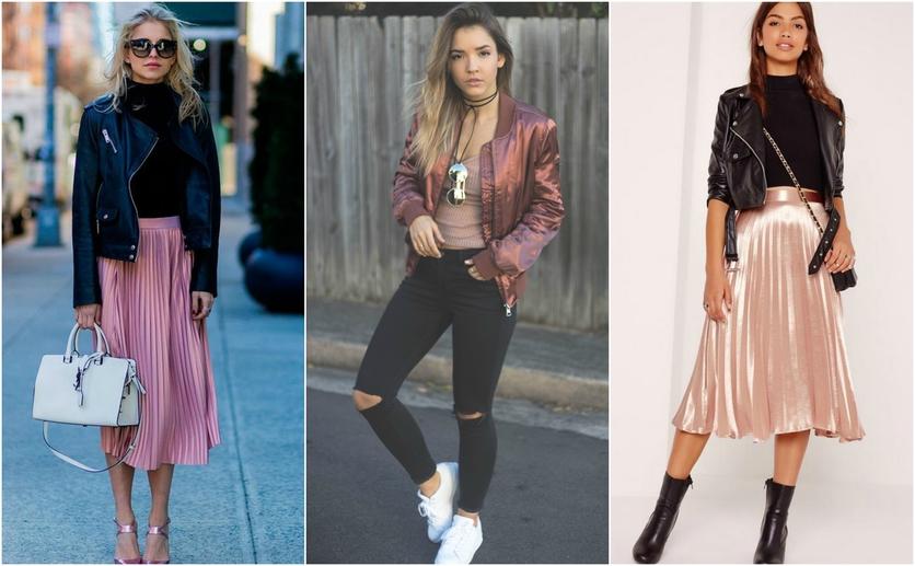 Outfits con colores colores metálicos para verte delgada 4