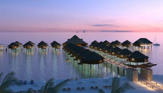 hotel flotante en caribe mexicano 1