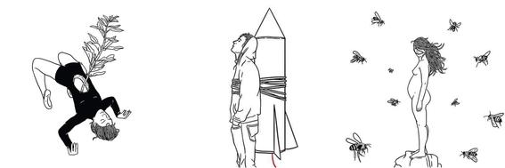 ilustraciones de leslie molina 2