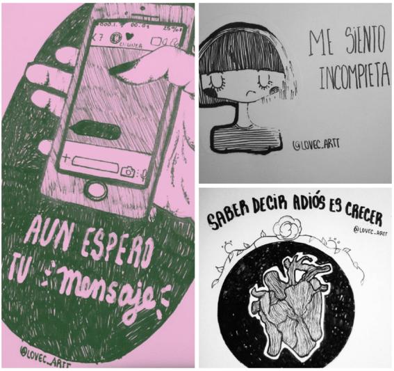 ilustraciones para superar al amor de tu vida 1