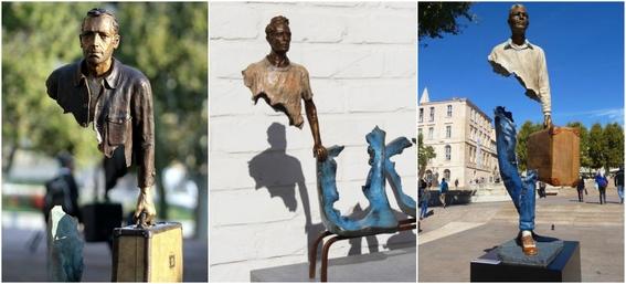 esculturas mas extranas del mundo 1