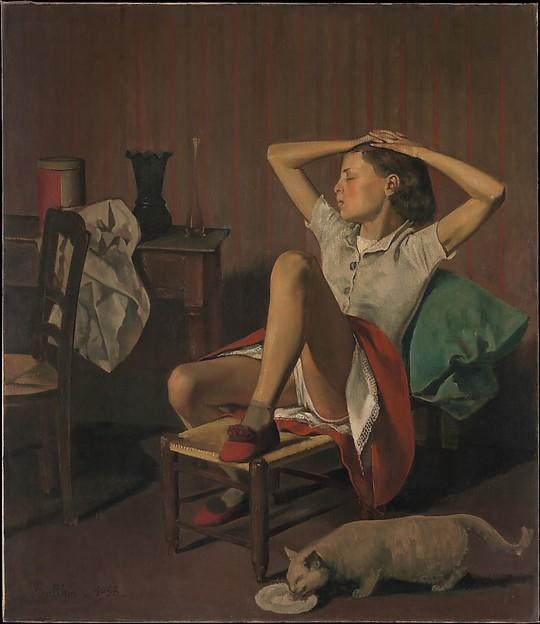 pinturas eroticas de balthasar klossowski 1