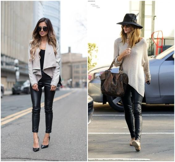 usar pantalones de cuero 7