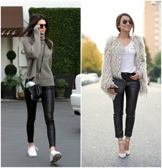 usar pantalones de cuero 6