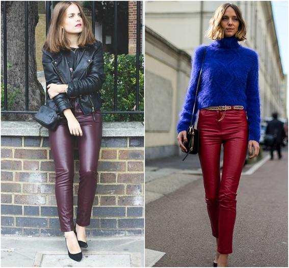usar pantalones de cuero 5