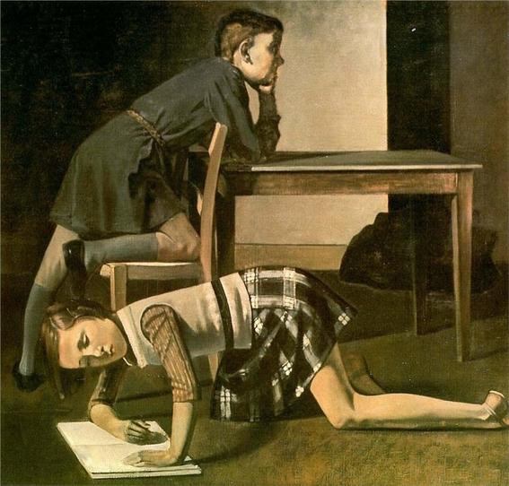 pinturas eroticas de balthasar klossowski 5