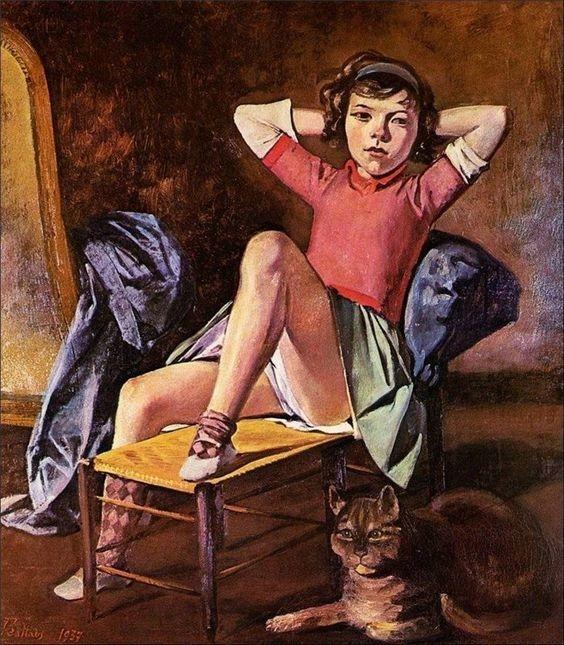 pinturas eroticas de balthasar klossowski 9