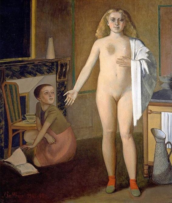 pinturas eroticas de balthasar klossowski 10