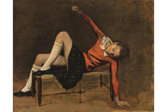 pinturas eroticas de balthasar klossowski 11