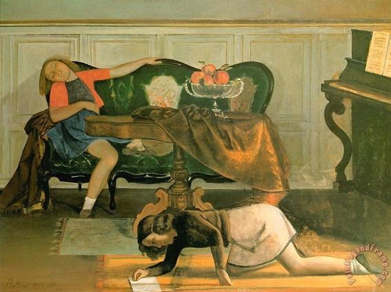 pinturas eroticas de balthasar klossowski 14