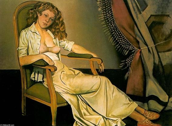 pinturas eroticas de balthasar klossowski 15
