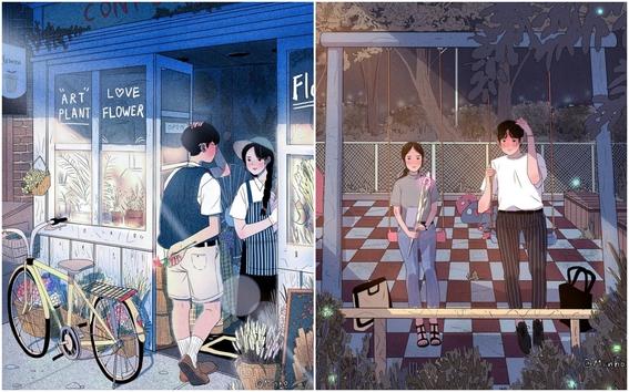 myeongminho illustrations 1