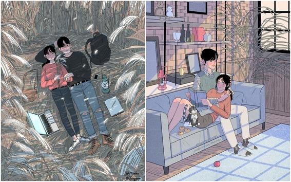 myeongminho illustrations 3