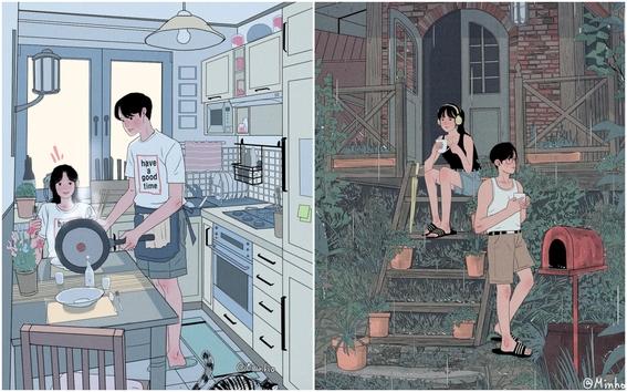 myeongminho illustrations 4