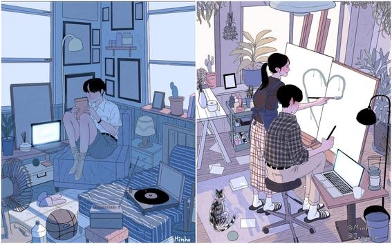 myeongminho illustrations 5