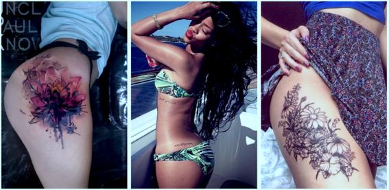 tatuajes para mujeres con curvas 5