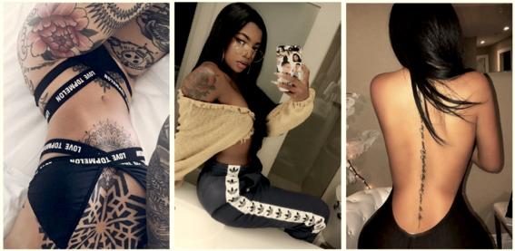 tatuajes para mujeres con curvas 4