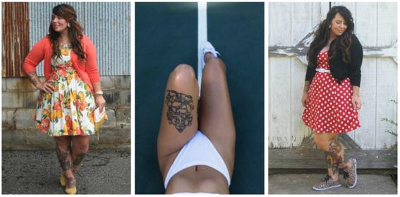 tatuajes para mujeres con curvas 3