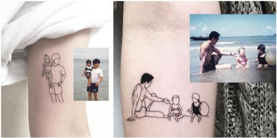 tatuajes minimalistas 3