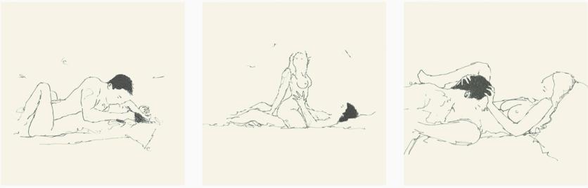 21 dibujos eróticos de todas las fantasías sexuales de una pareja 3
